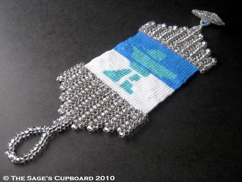 Ice Floe Bracelet by The Sage's Cupboard