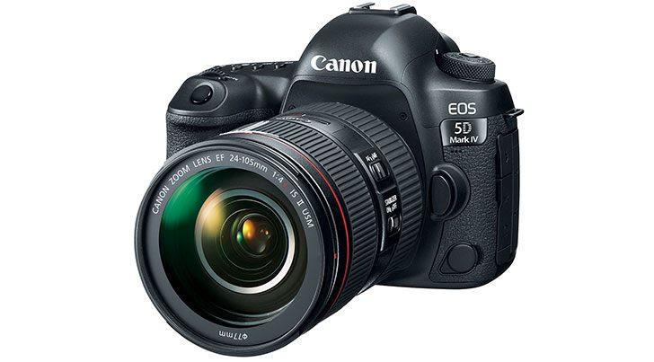 Canon Announces the EOS 5D Mark IV DSLR
