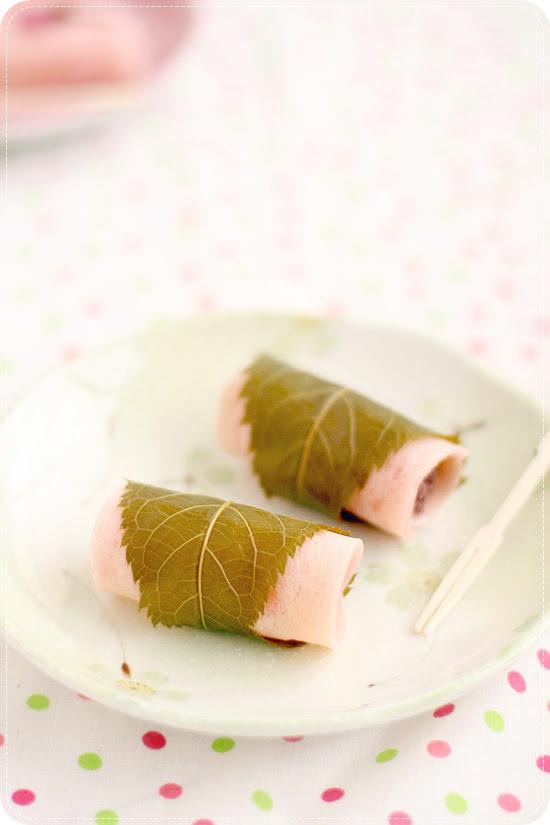 Sakuramochi Kanto Style 桜餅の関東風