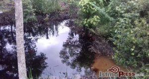 Exigen a Pemex controlar derrame de hidrocarburo que contaminó arroyo y parcelas en el Istmo