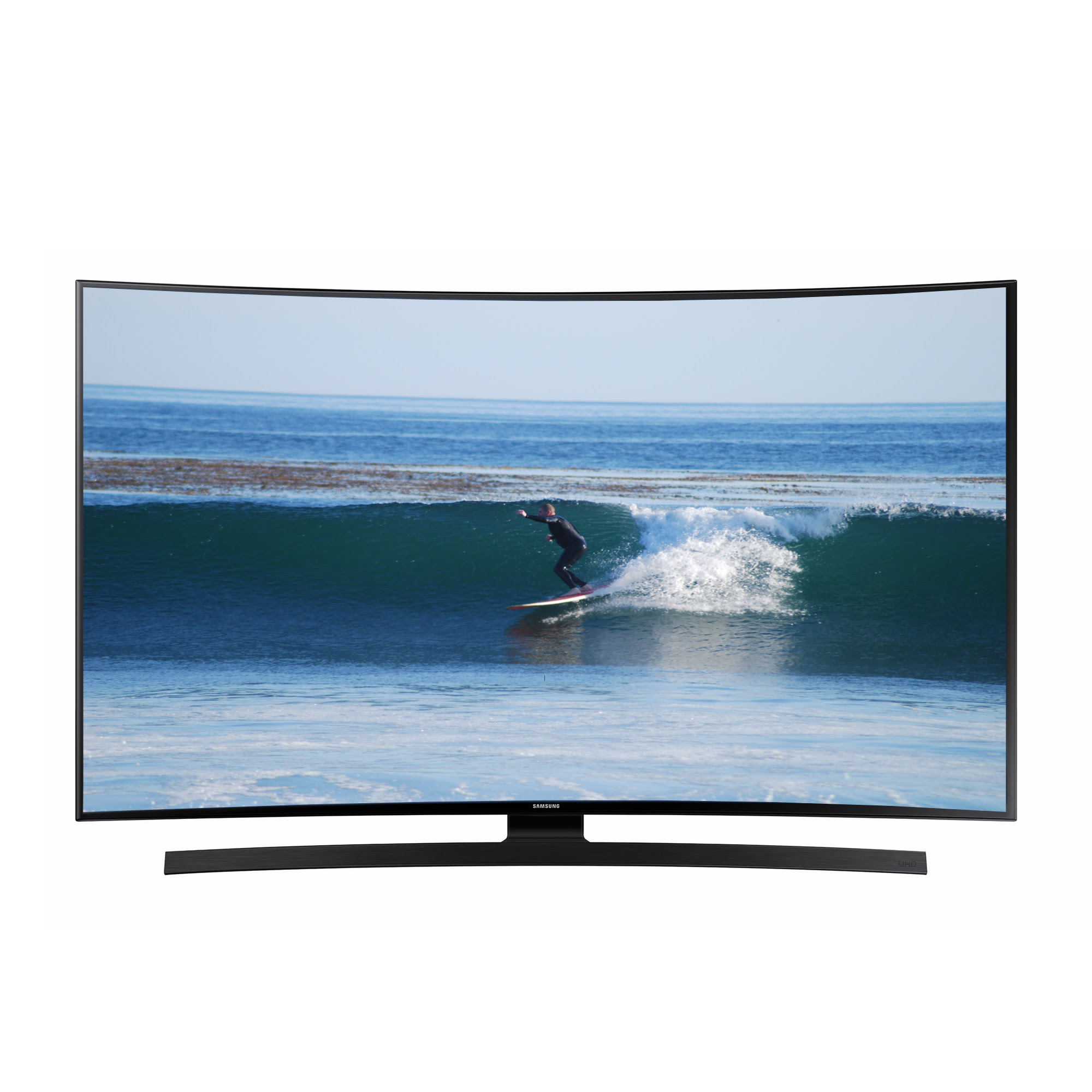 Samsung Refurbished 55 Class 4K Ultra HD Curved LED Smart Hdtv - UN55JU670DF
