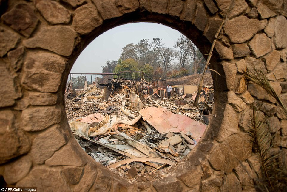 The 40-year-old Signorello Estate, which produces between 5,000 and 6,000 cases of wine each year, is one of 16 wineries wrecked by the monster blazes that have ravaged northern California over the past week