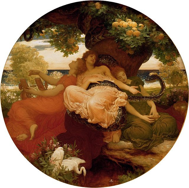 The Garden of the Hesperides by Frederick, Lord Leighton, 1892.