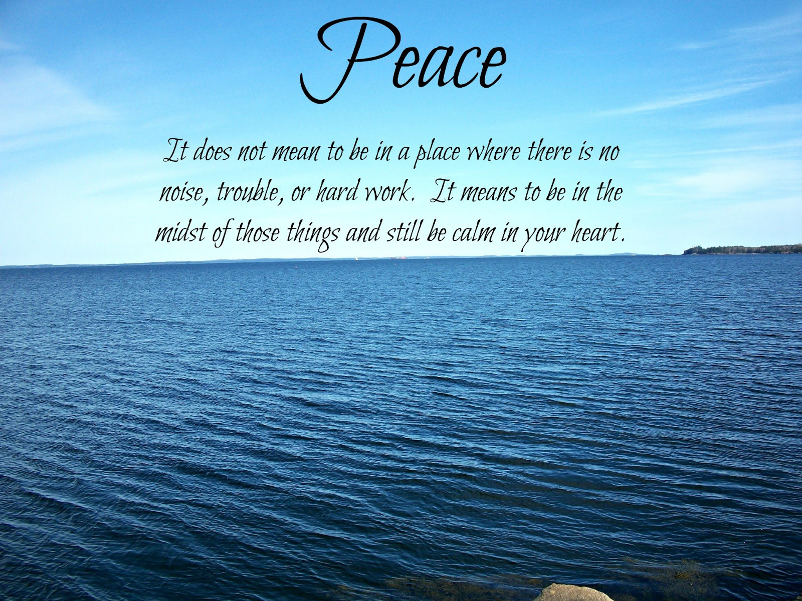 Quotes About Calm And Peace 70 Quotes