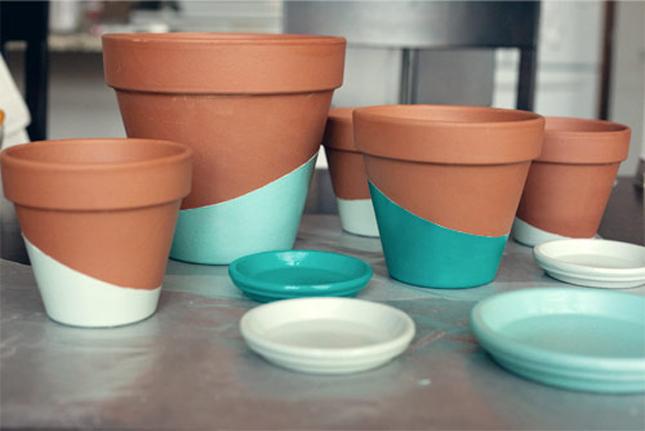 Resultado de imagem para vaso de barro decorado