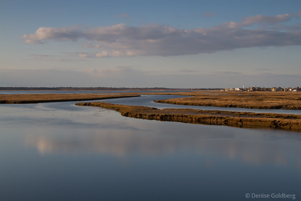 view from Plum Island Bridge, Newburyport, MA