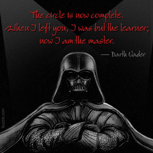 Quotes About Darth Vader 78 Quotes