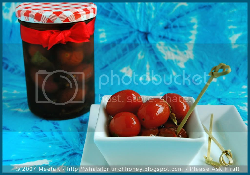 Tomatoes in Agrodolce (02) by MeetaK