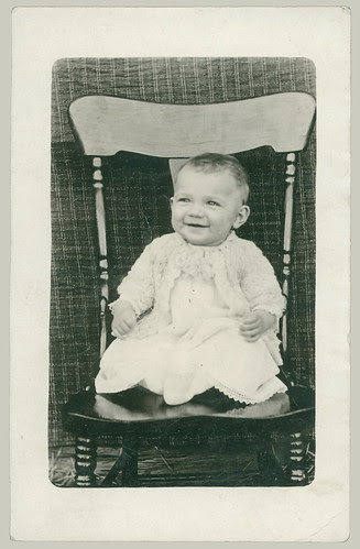 Child in a chair