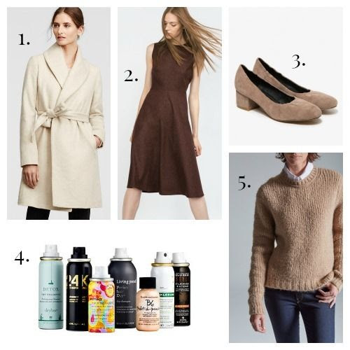 Ann Taylor Coat - Zara Dress - Jeffrey Campbell Pumps - Sephora Favorites - Baldwin Sweater