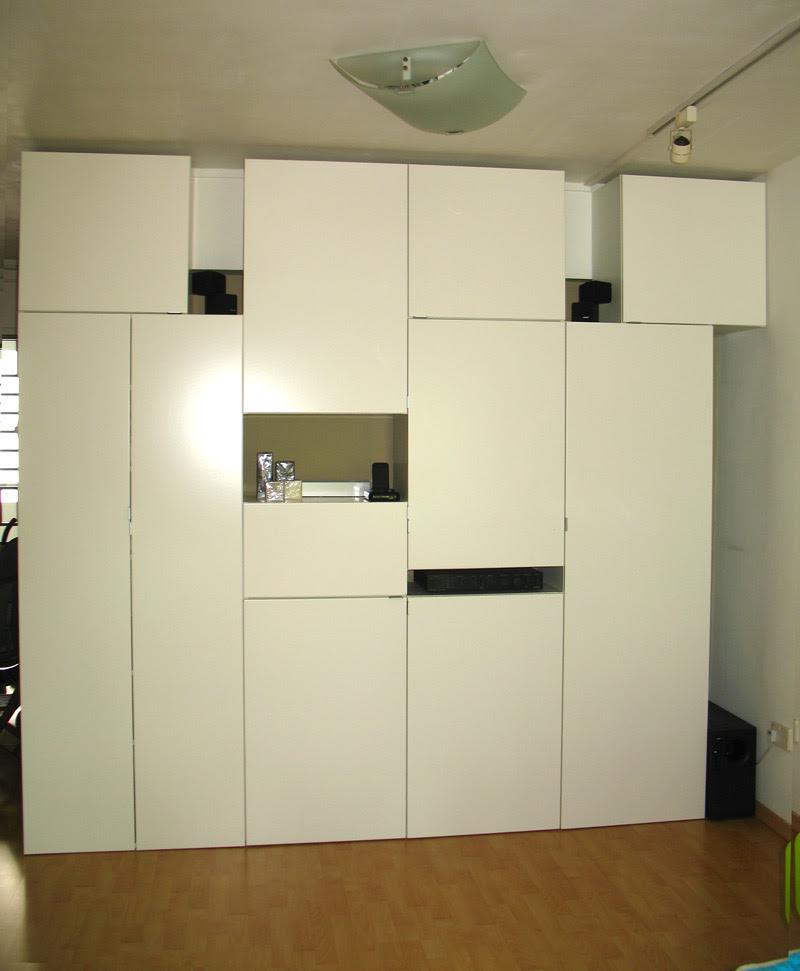 Ikea Hack Wall Unit - House Furniture