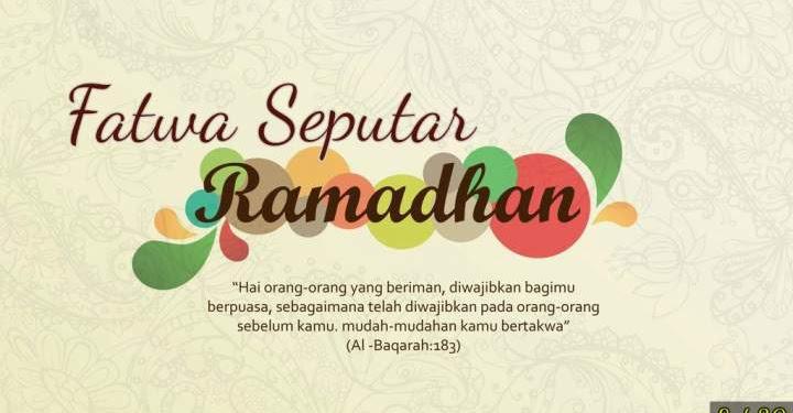 Ustadz Abdul Somad - 30 Fatwa Seputar Ramadhan, #8 Suntik, Tetes Telinga dan Celak