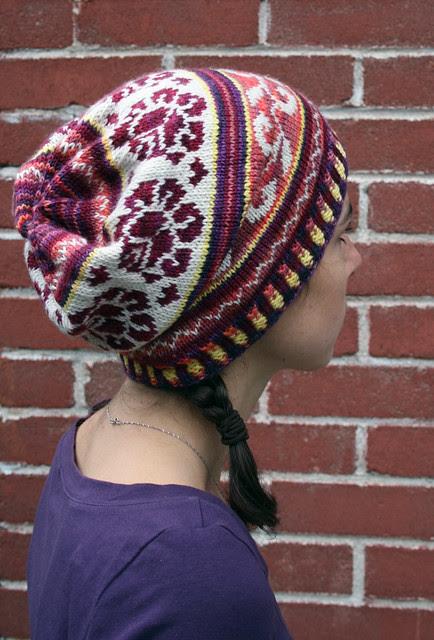 Autumn Rose Hat