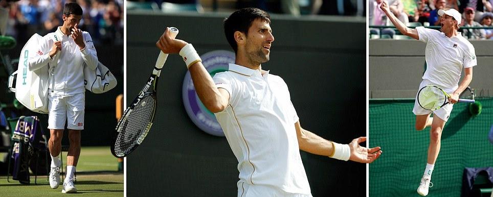 Novak Djokovic suffers shock Wimbledon third-round defeat against Sam Querrey as 30-match