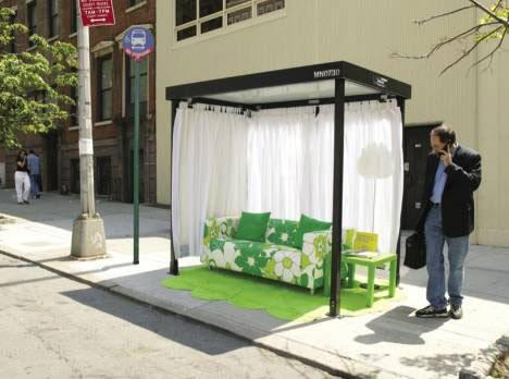 US furniture store guerilla marketing