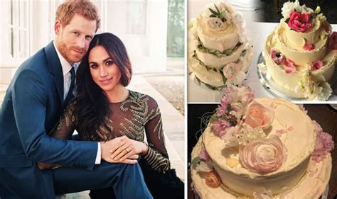Royal wedding cake through history: Pictures of the most