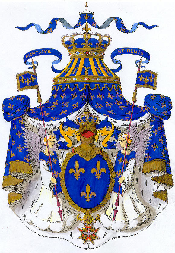 Royal Coat of Arms of France