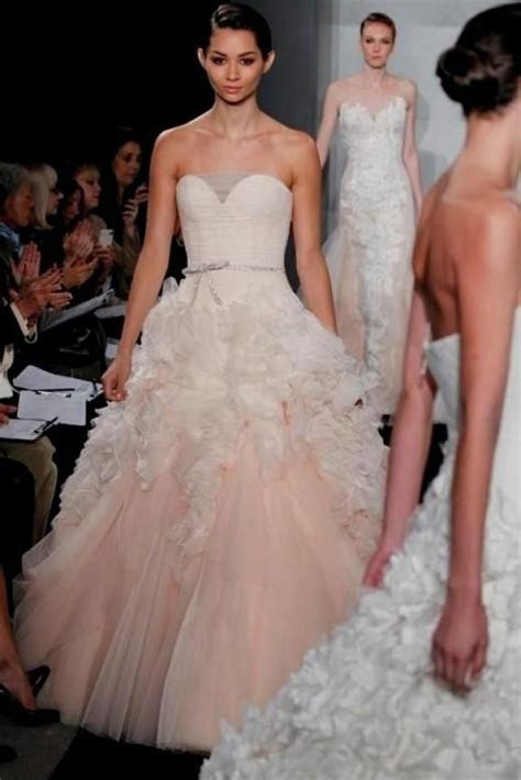 Pink Wedding Dress Say Yes To The Dress World Dresses