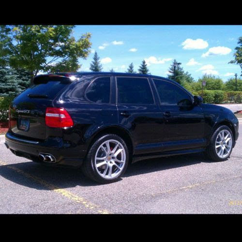 Sell Used 2009 Porsche Cayenne Gts Black Cpo Warranty Nav