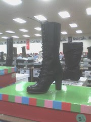 Coolest boot ever--but way too high a heel