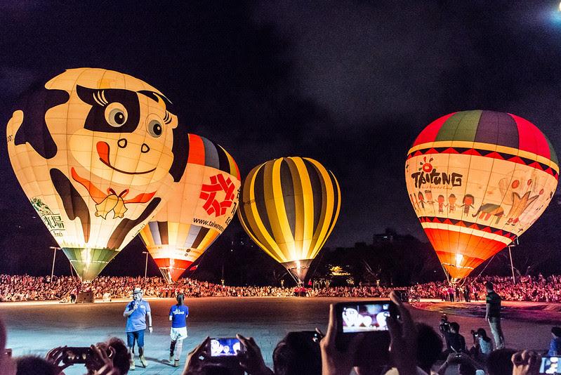 2016臺灣國際熱氣球嘉年華高雄光雕音樂會