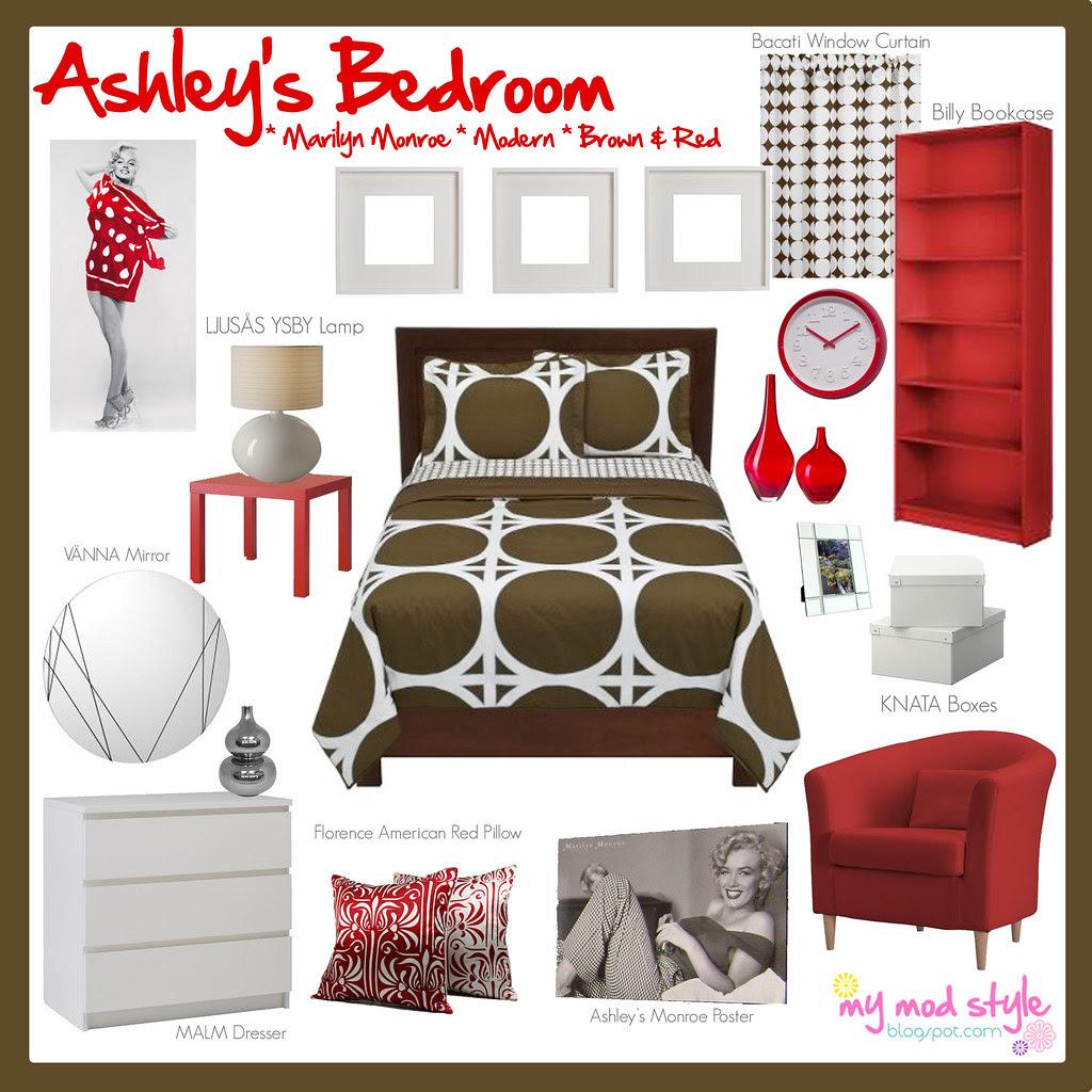 Design Board Ashleys Bedroom
