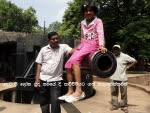 Akki on a Big Cannon