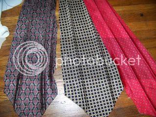 Recycle silk tie