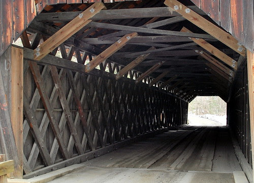 Inside Martins Mill Bridge
