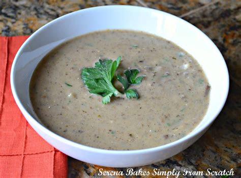 cream  mushroom soup  scratch gluten  serena