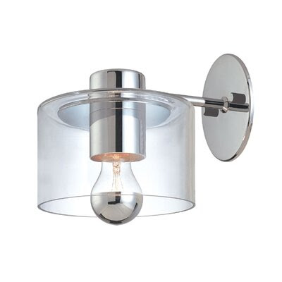 Modern Glass Shade Sconce | Wayfair