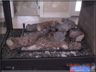 Direct Vent Fireplaces Converted To Fire Glass Fireplaces