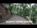 Membuat Jalan di Lereng Gunung PKTDesa 2021