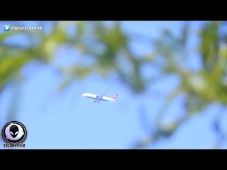 Avión se Detiene completamente a Mitad del Aire! / Commercial Jet Completely STOPS In Mid Air!