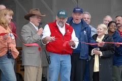 Ribbon Cutting - Senator Ted Stevens - Bernie ...