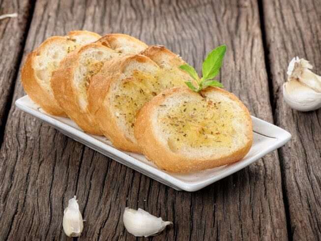 French Bread With Garlic Spread Recipe from CDKitchen.com