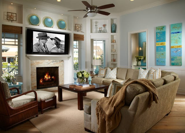 How to Decorate a Tropical Style Living Room - Home Decor ...
