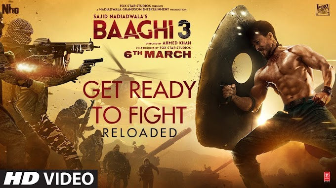 Get Ready To Fight song lyrics- Baaghi 3