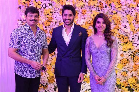 Samantha Naga Chaitanya Akkineni Wedding Reception Photos