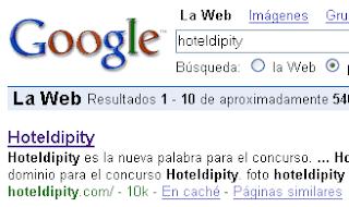 google hoteldipity