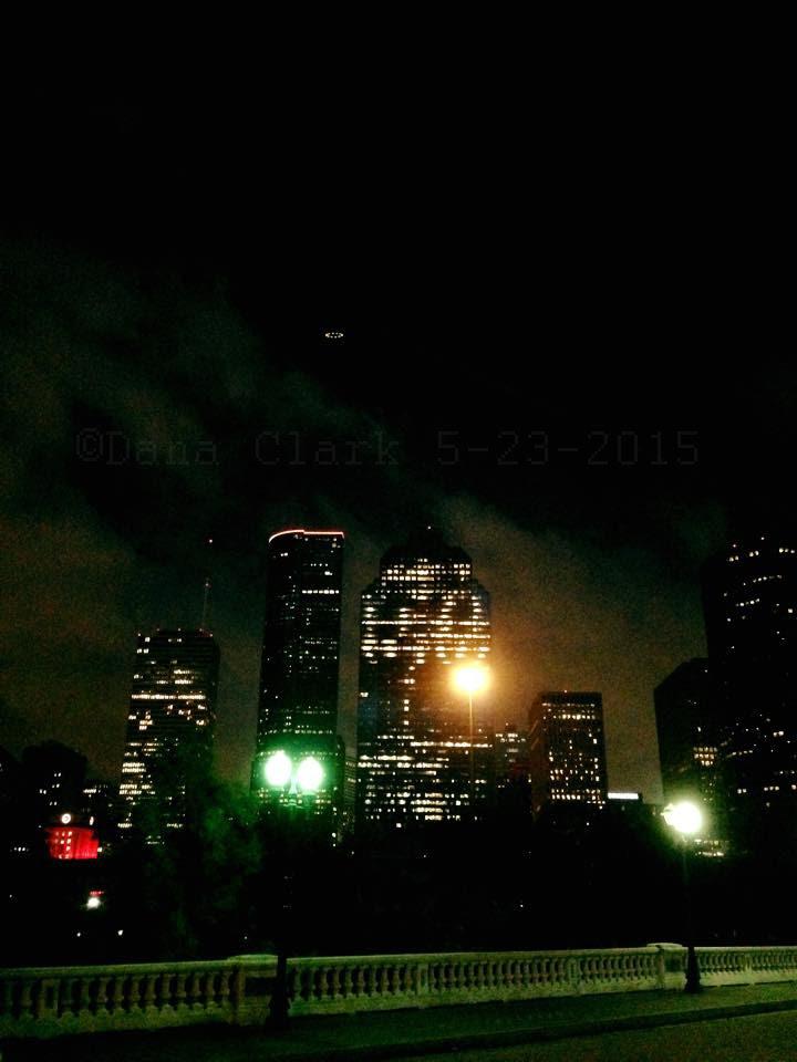 UFO over Houston, Texas