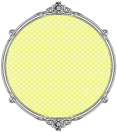 6 chartreuse Tiny Polka Dots paper 12 and a half inch 350 dpi