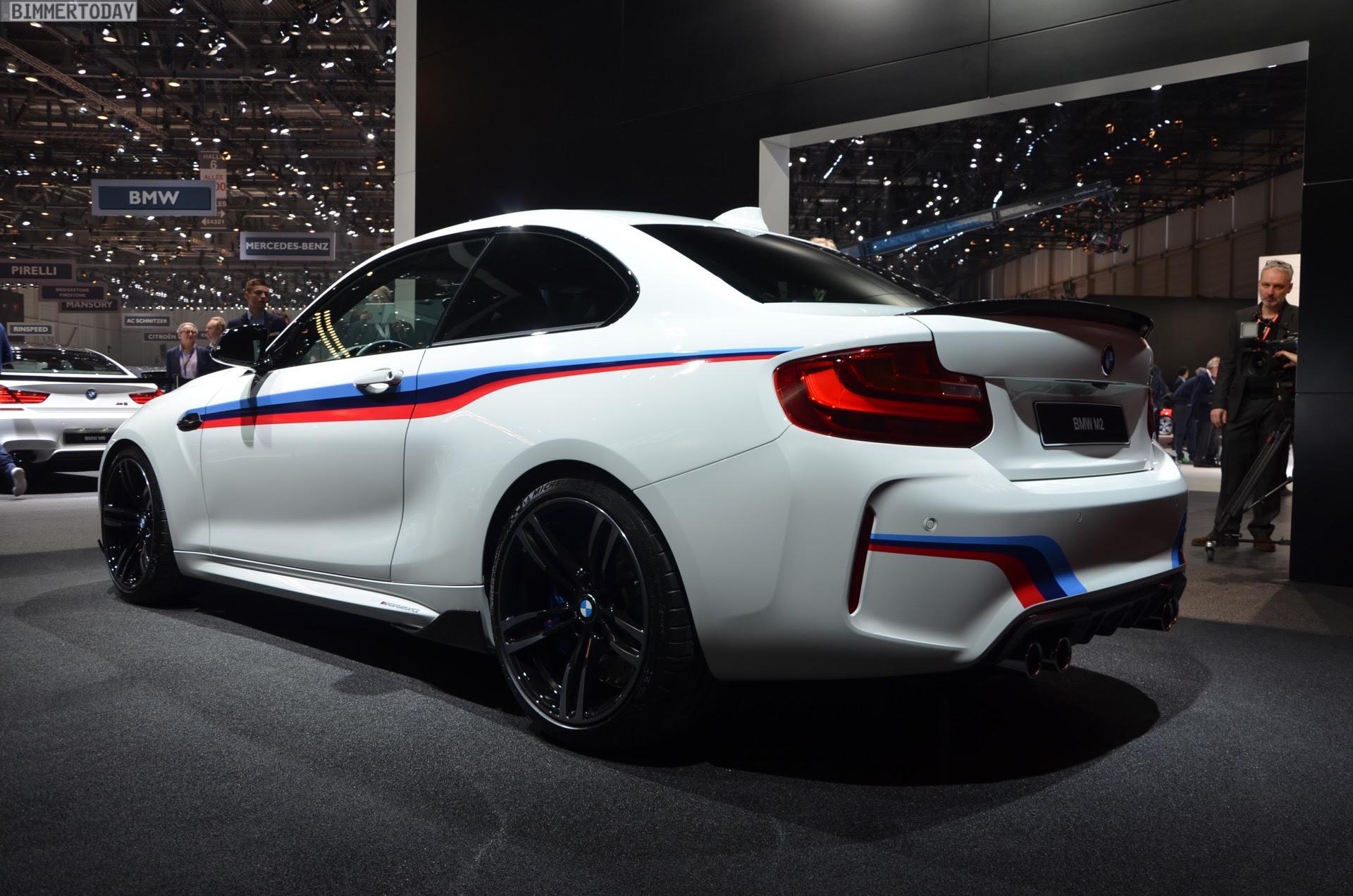 BMW M2: Tuning-Premiere für M Performance-Zubehör in Genf