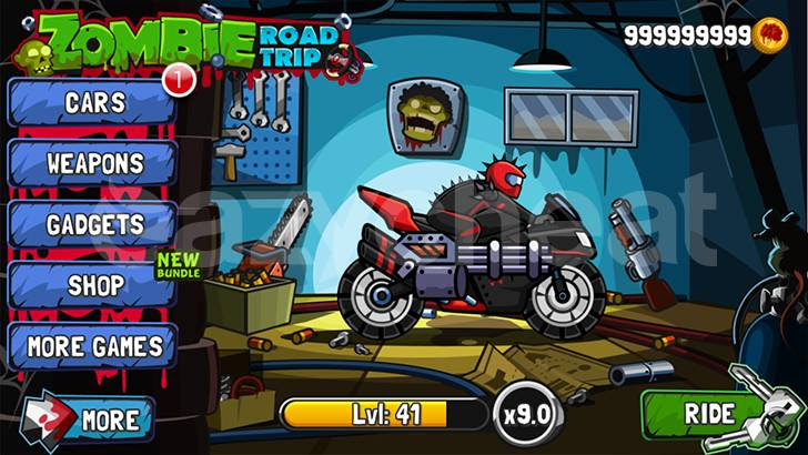 Zombie Road Trip Unlimited Coins