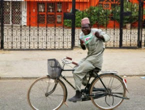 Man Rides Bicycle From Kaduna To Lagos To Thank Yorubas For Voting Buhari