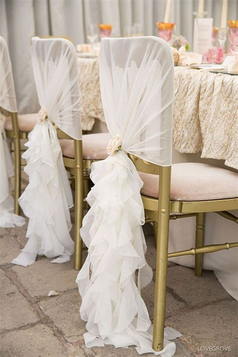 25  best ideas about Wedding Chair Covers on Pinterest