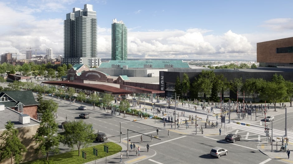 Stampede LRT station revamp will allow 17th Avenue to extend into park