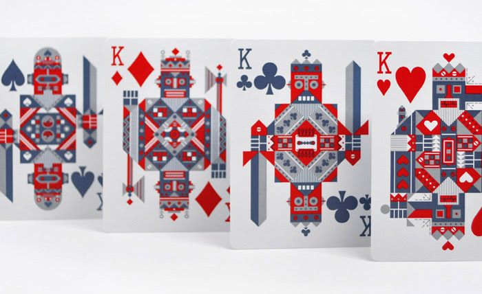 Robocycle Playing Cards by Theory 11