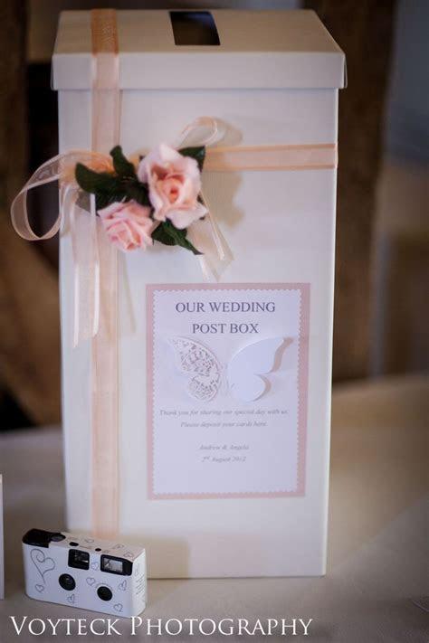 The wedding post Box   Craft ideas   Wedding post box
