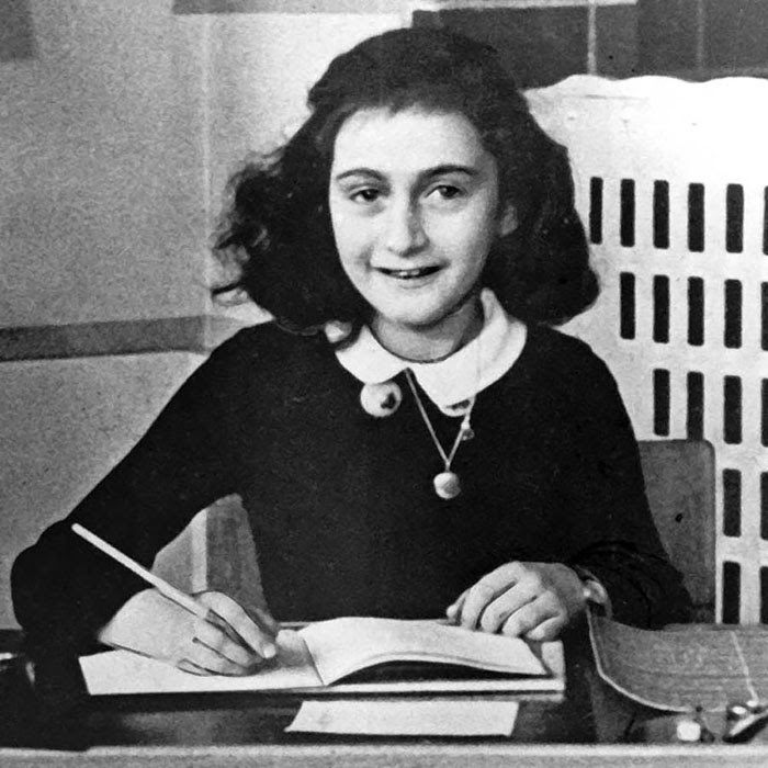 Anne Frank Was A Jewish Diarist And Writer